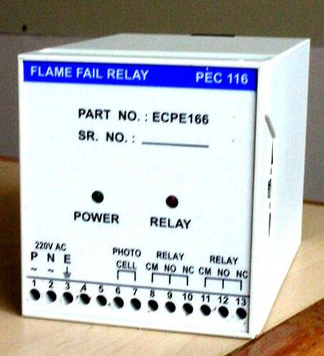 Flame Fail Relay