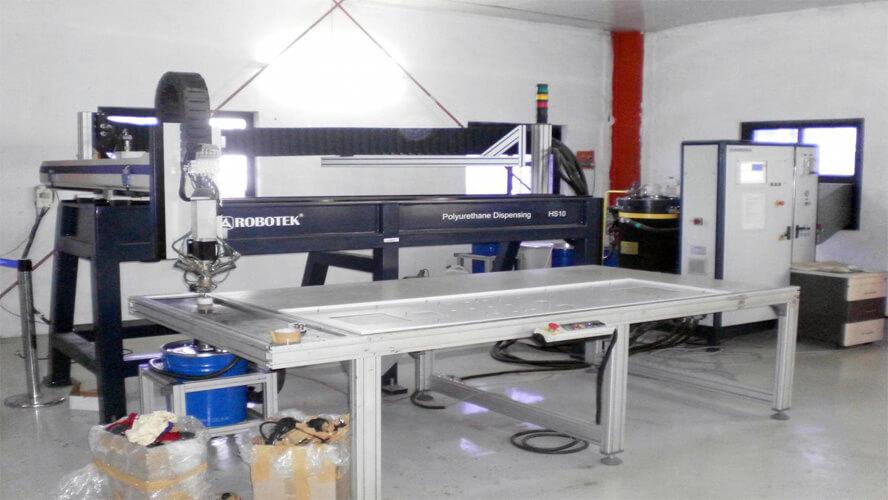 CNC Gasketing Machine